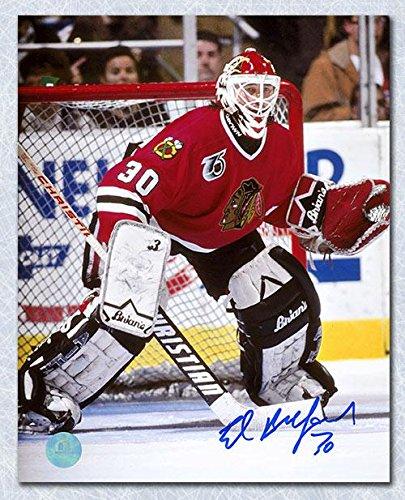 Photo 8x10 Ed Autographed - Autographed Belfour Picture - 8x10 Goalie - Autographed NHL Photos