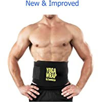 Saundarya Yoga Wrap Sweat Belt Tummy Trimmer for Men and Women