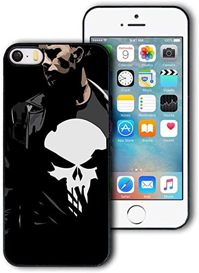 Apple iPhone 5,iPhone 5S,iPhone SE Coque Case Cover, The Punisher ...