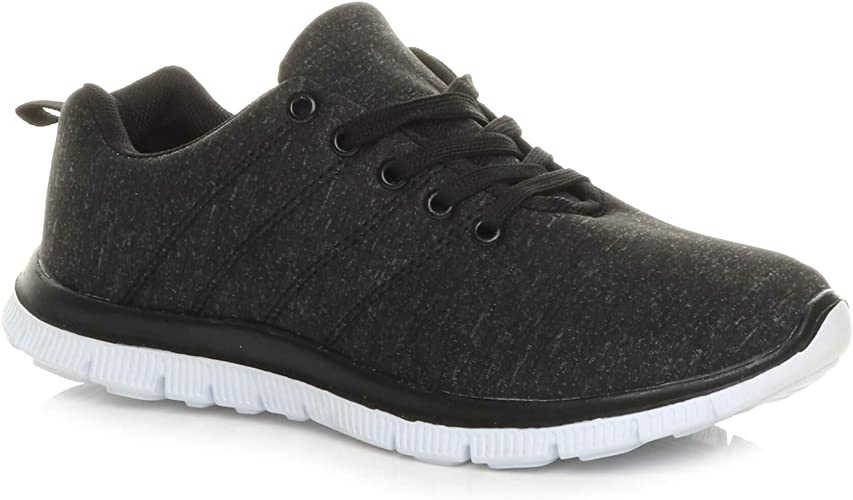 Womens Ladies lace up Comfort Memory