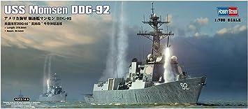 Grey Hobbyboss 1:700 Scale USS Arleigh Burke DDG-51 Model Kit
