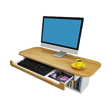 GWM - Armario informático para salón, ordenador portátil, oficina, biblioteca, estudio,