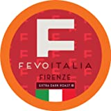 Fevo Italia Coffee Pods, Firenze, Compatible with 2.0 K-Cup Brewers, 40 Count