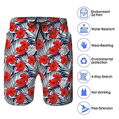 0f87903d057eb ... RAISEVERN Swim Trunks Summer Beach Shorts Pockets Boardshorts Men Mesh  Lining