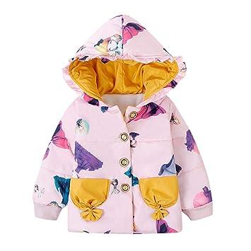 Abrigo de invierno para niños, chaqueta de dibujos animados ...