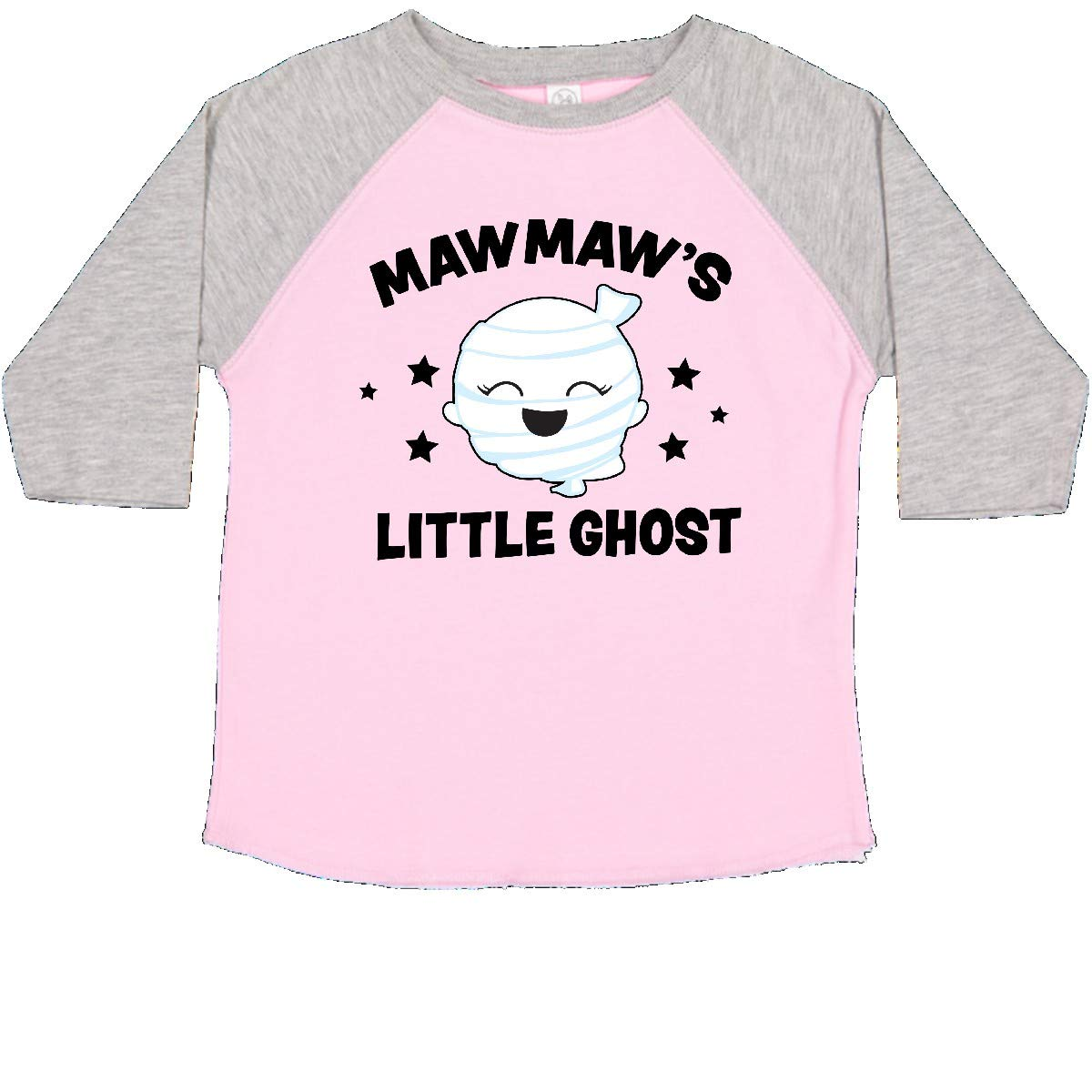 inktastic Cute Mawmaws Little Ghost with Stars Toddler T-Shirt