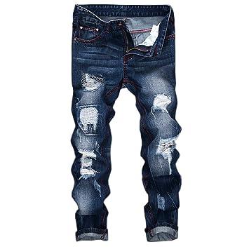 Pantalones vaqueros hombre baratos streetwear,jeans hombre ...