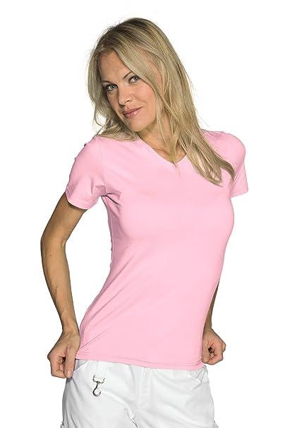 Isacco-Camiseta de Manga Corta para Mujer, diseño de 100% algodón: Amazon.es: Ropa y accesorios