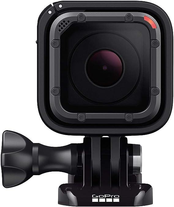 GoPro Hero5 Session - Videocámara de 10 MP (4K, 1080p, WiFi, CMOS), Color Negro