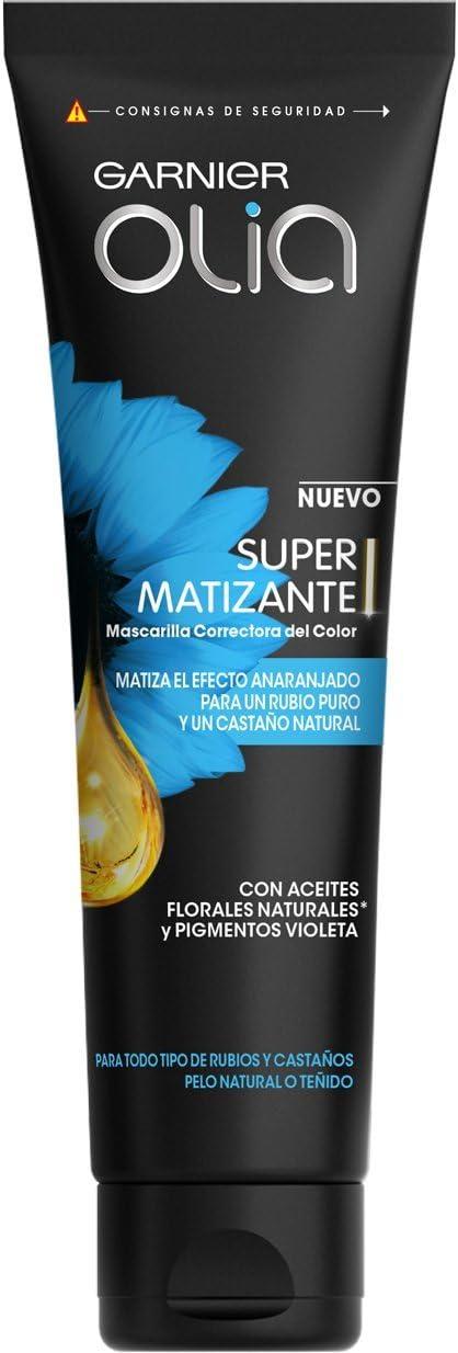 Garnier Olia Super Matizante Mascarilla Correctora del Color - 150 ml