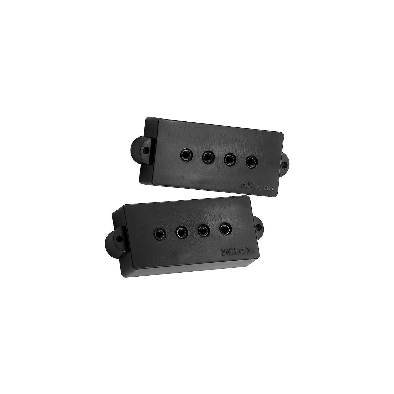 Amazon.com: DiMarzio Model P DP122 for Fender P Bass Guitar Black, + ...