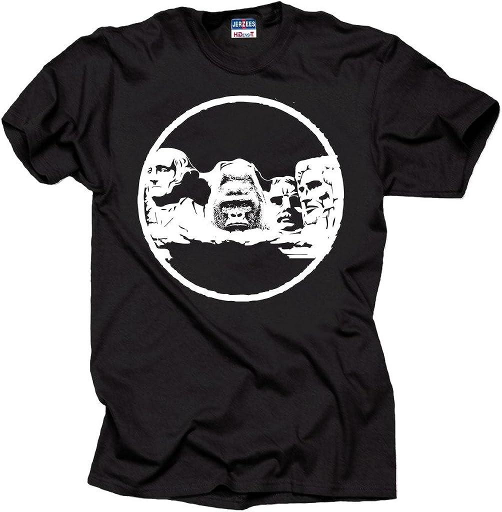Milky Way Tshirts Harambe Monte Rushmore Camiseta de los Hombres de Apoyo Harambe Gorila Camiseta: Amazon.es: Ropa y accesorios