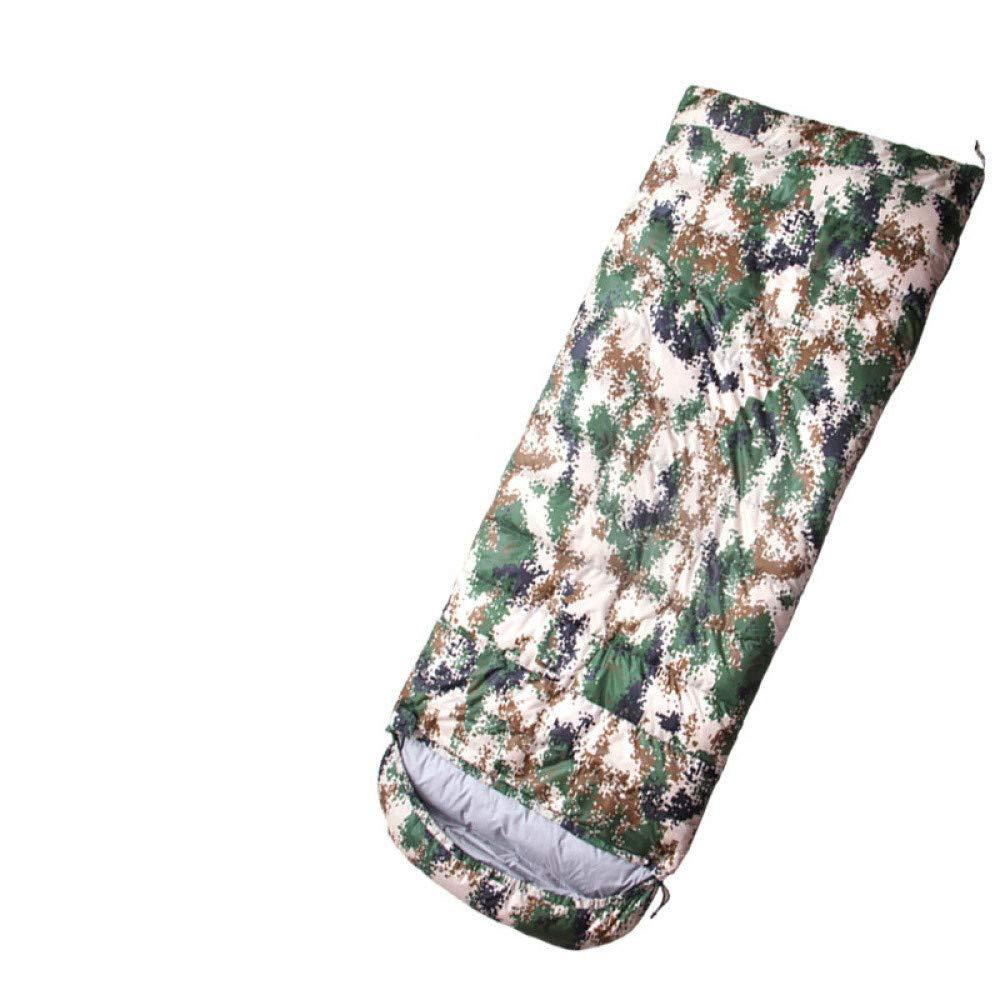 ERKEJI Ultraleichter Daunenschlafsack Umschlag Camouflage Schlafsack Outdoor Camping Schlafsack Warmer Warmer Warmer Daunenschlafsack B07KR2ZWHK Mumienschlafscke Eigenschaften ec3c66