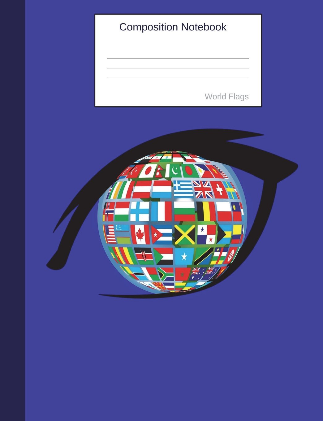 Composition Notebook World Flags: Globe Graph Paper Book to write in for school, take notes, for kids, students, geography and cultures teachers, homeschool pdf