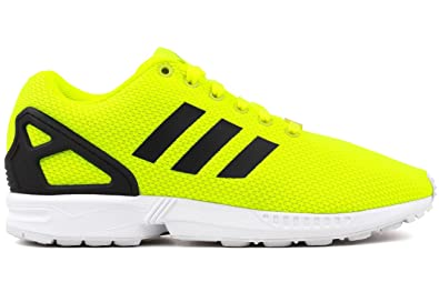 new concept f28cd 6853a adidas ZX Flux Mens in Electro White Mens, 9