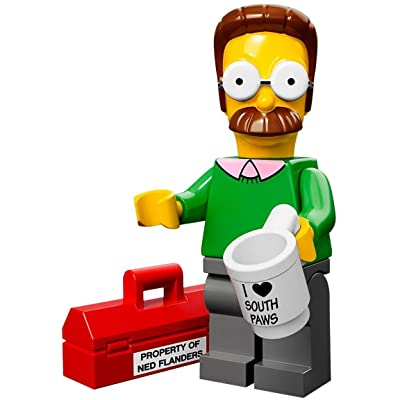 Lego 71005 The Simpson Series Ned Flanders Simpson Character Minifigures: Toys & Games