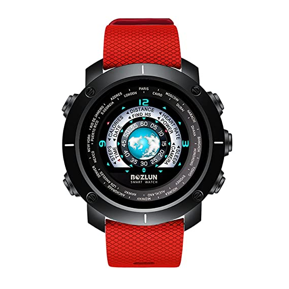 Reloj inteligente 3D UI, IPS HD pantalla colorida, Nordic NRF52832 Bluetooth 4.0, IP67