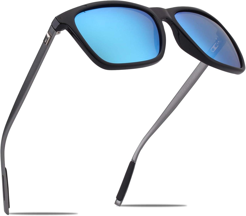 CGID Classic 80s Polarized Sport Sunglasses for Men and Women Ultra Light UV400 MJ17