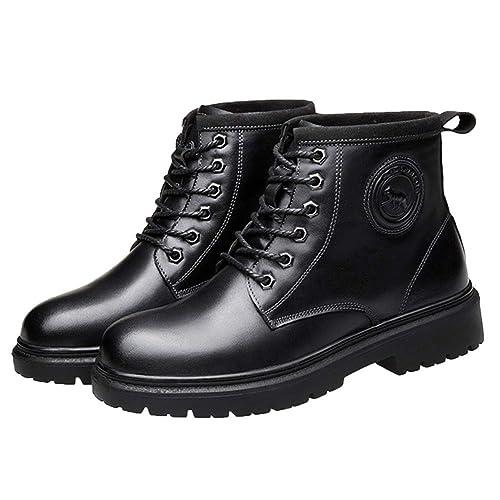 Botas De Seguridad para Hombre Ligeras Impermeables Zapatillas De Deporte Otoño Y Terciopelo Ayuda Alta Martin