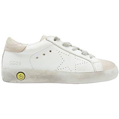 5a78cfc0a3c78 Golden Goose Kids Sneakers Superstar White Skate G31KS001.A28 (Size: 20)
