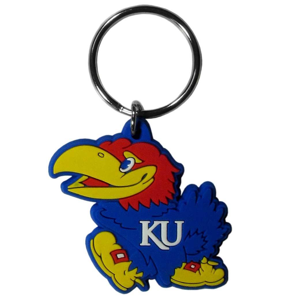 Siskiyou NCAA Team Logo Flex Schlüssel Kette Schwarz Siskiyou Gifts Co Inc. CPK13