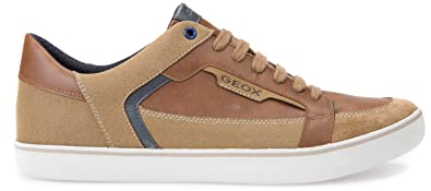 Halver Herren Sneakers Low-Top Blau Größe 43 Geox Billig Verkauf Am Besten TTPwj2