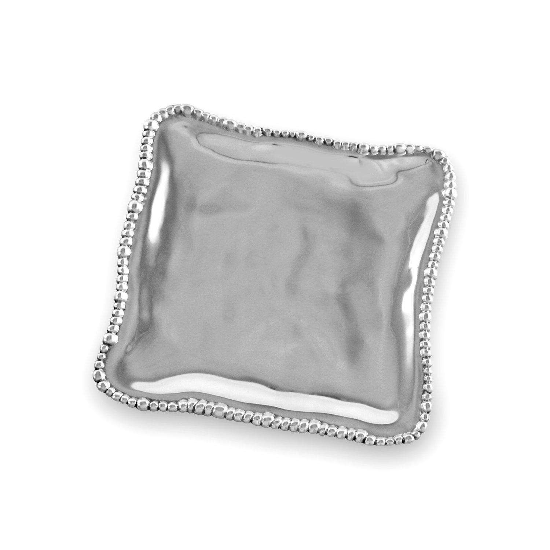 Beatriz Ball Small Organic Pearl Nova Square Platter