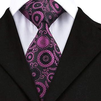 WOXHY Corbata de los Hombres Corbata Corbatas Tejidas Jacquare de ...