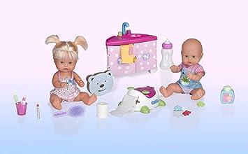 1f600ae9a Nenuco Hermanitos Traviesos en el Baño (Famosa 700013106): Amazon.es:  Juguetes y juegos