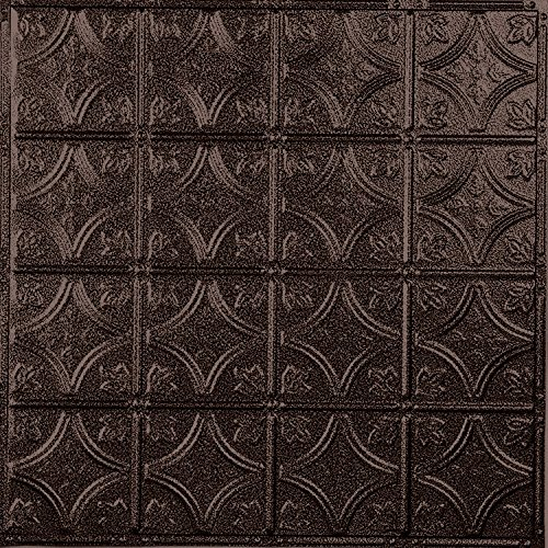 Amazon.com: American Tin Ceilings Pattern #3 Tin Tile Backsplash Kit  (Copper Penny Vein): Home U0026 Kitchen