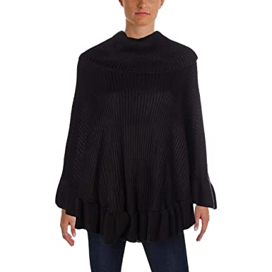 ae3a907f217 Ivanka Trump Women s Pull Over Heavy Cowl Neck ARMLESS Poncho Sweater