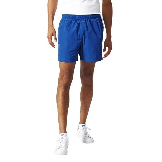 adidas Retro Linear Fußballshorts EQT Blue s16, Größe:XS