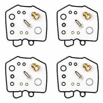 4x Kit Reparación Carburador Aguja del flotador Getor CAB-H5: Amazon.es: Coche y moto