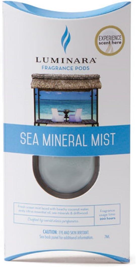 Luminara Fragrance Cartridges - Sea Mineral Mist | For Luminara Fragrance Diffusing Flameless Candle Pillar