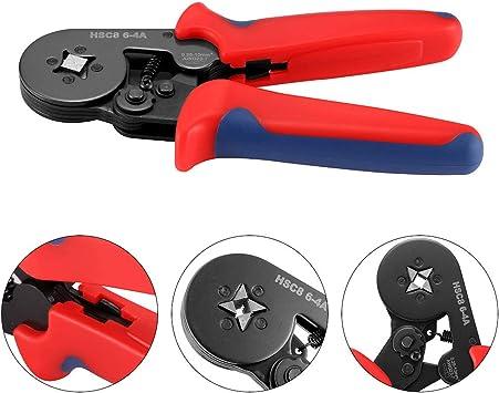 0.25-10mm2 Ferrule Crimper Crimping Pliers 1200pcs Terminals Crimp Tool Kit NEW