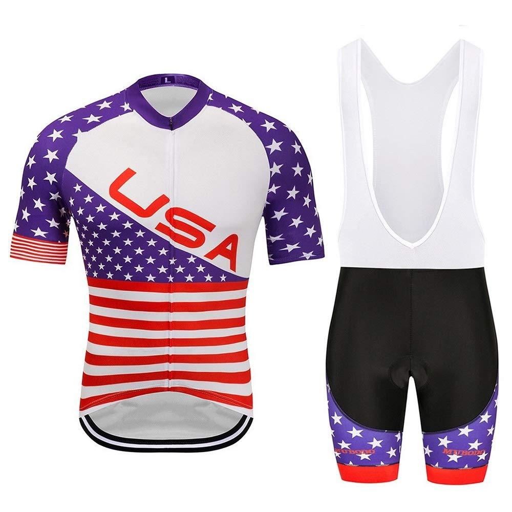 YHW-Jerseys-0911 Trikots Sommer Kurzarm Atmungsaktive Sportbekleidung Fahrradtrikot Anzug Sport Wandern Laufbekleidung YHWCUICAN (Color : 1, Size : M)