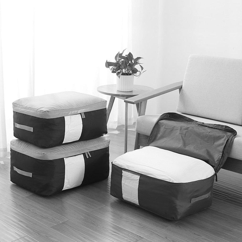 XXT-Shoe bag Quilt Storage Bag Oxford Cloth Storage Bag Household Storage Bag Clothes Storage Bag Moving Storage Bag Color : B