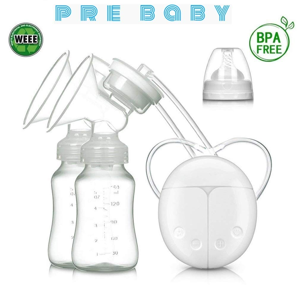 Portable Intelligent USB Electric BPA Free Automatic Massage Breast Pump