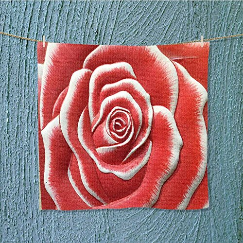 L-QN exercise towellow relief cement thai stylecraft of rose flower Odor Resistant W19.7 x W19.7 by L-QN
