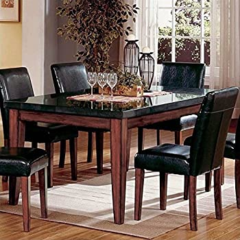 Amazon.com - Steve Silver Company Granite Bello Dining Table, 42\