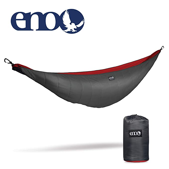ENO - Eagles Nest Outfitters Ember Hammock UnderQuilt – The Hammock Underquilt That Surround the Bottom and Both Sides of Your Hammock