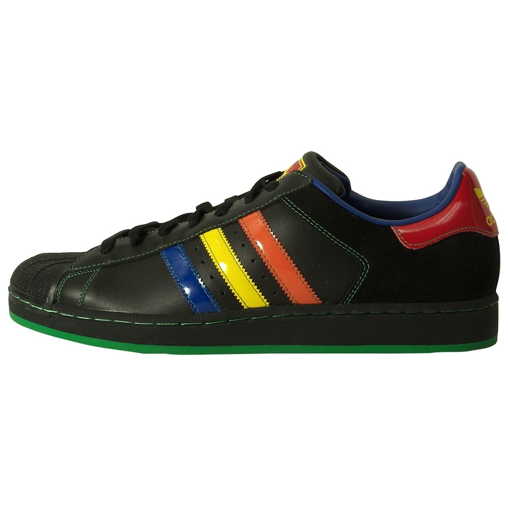 Adidas Men's Superstar 2 CB Casual Shoe Black, Multicolour (10)