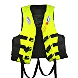 Starcrafter Children and Adult Life Jacket Buoyancy Aid Air Vest for Swimming Drifting Boating Fishing Kayaking and other Watersports