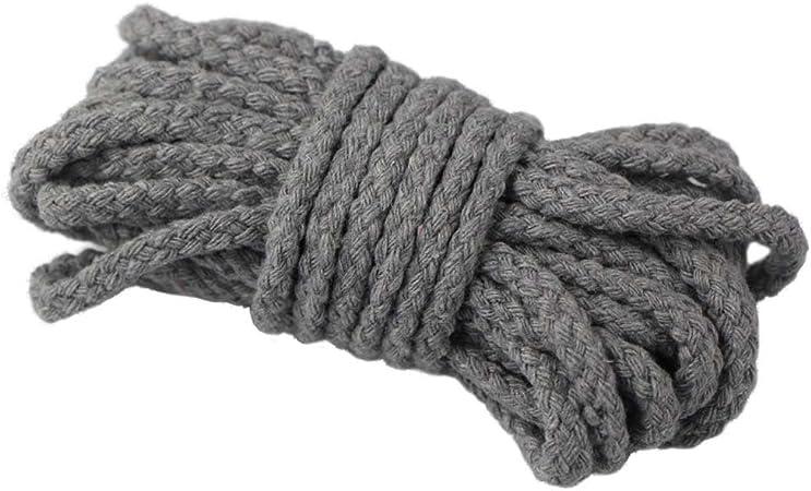 Cardel Edgeam de algodón, natural, cuerda de 7 mm de ancho, para ...