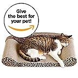 Animals Favorite Deluxe Cat Scratcher Corrugated (Sofa Cheetah)