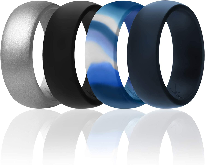 SA Silicone Ring 2 Tone Green Camo Size 11 Mens..Free Shipping!!