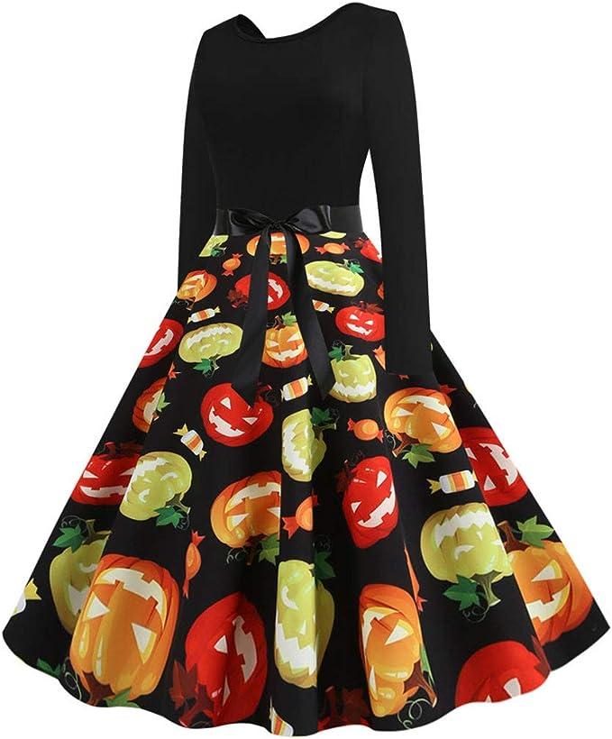 Sylar Vestidos Mujer para Halloween Vestido De Disfraces Swing ...