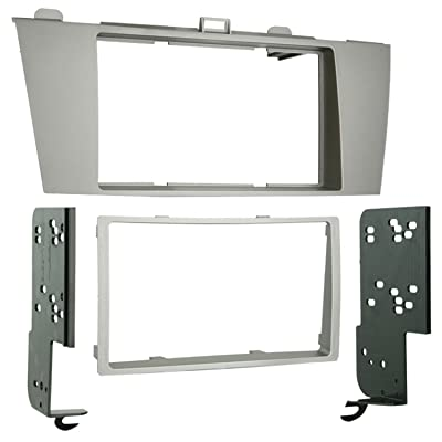 Metra 95-8212 Double DIN Installation Kit for 2004-2008 Toyota Solara Vehicles (Silver): Car Electronics