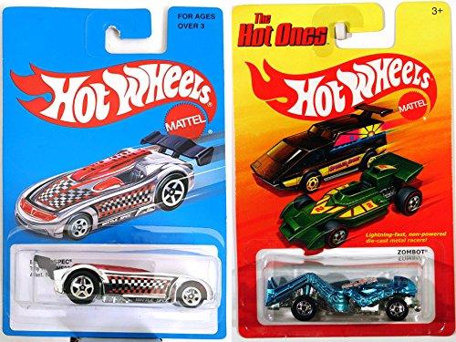 Battle Robot Hot wheels Retro Blue 2016 Hot Wheels Battle Spec Exclusive & Zombot Hot Ones Robot All metal Design Racers Heritage Collection