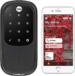 Yale Real Living Key Free Touchscreen Deadbolt(YRD240-NR-619), YRD246-iM1-0BP
